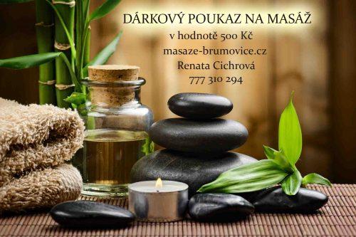 Poukaz na masáž